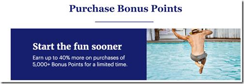 Hyatt 40% Buy Points Aug 9
