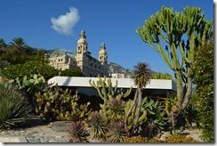 Monte Carlo casino garden view