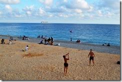 Nice beach play