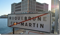 Roquebrune sign