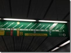 Prague Metro A line