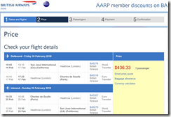 SJC-CDG $436 BA Feb16-25