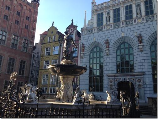 Gdansk Long Market Square