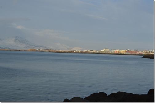 Reykjavik sun