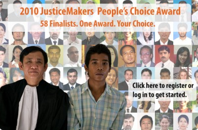 IBJ JusticeMakers People's Choice Award