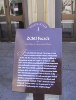 ZCMI Facade Sign