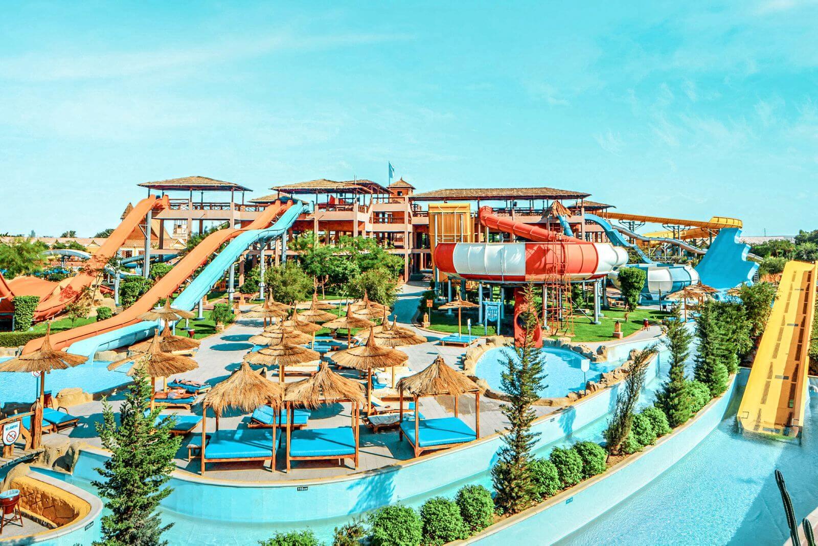 De beste hotels in Tunesië voor gezinnen met kinderen met een all-inclusive waterpark