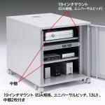19インチマウントボックス(高さ700mm・13U)商品画像
