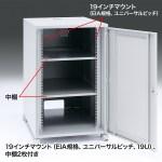 19インチマウントボックス(高さ1000mm・19U)商品画像