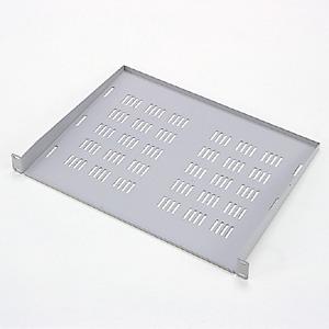 EIA用スリット付棚板(1U・ライトグレー)商品画像
