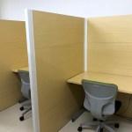 和の集中ブース・WEB会議ブース(2人用)商品画像