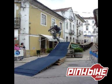 1º Table Top no salto final de uma prova