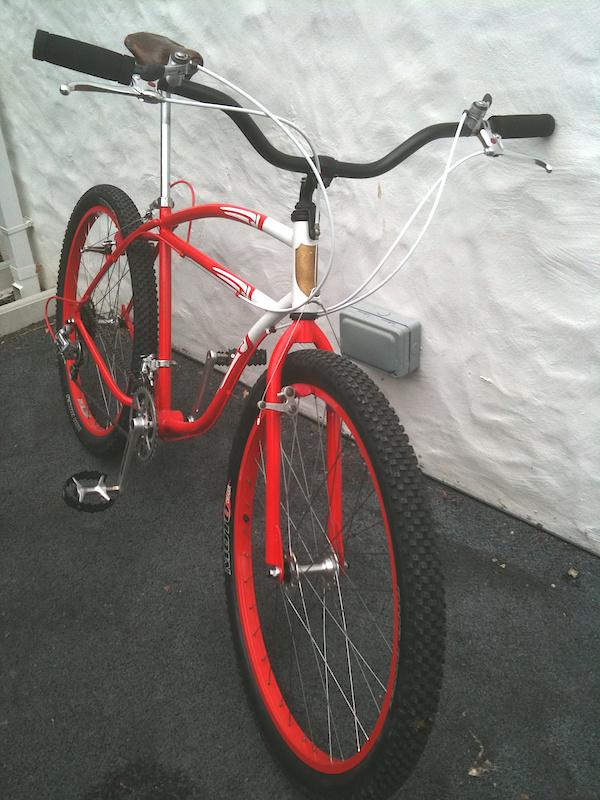 Klunker red frame