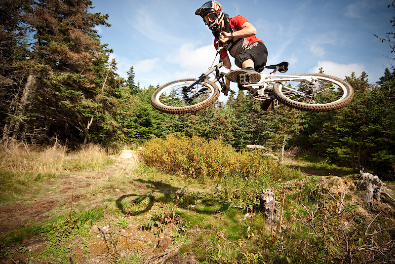 Photo of the Day pinkbike.com for 100 Cyclists Project. Rider: Dylan Forbes