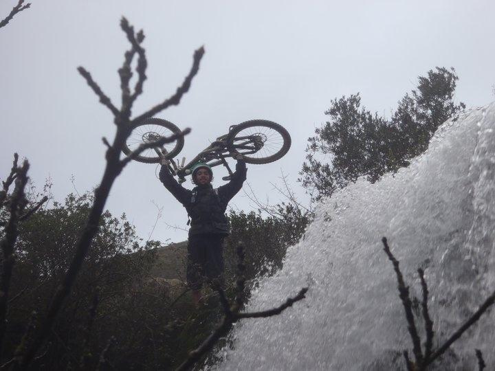 Na cascata