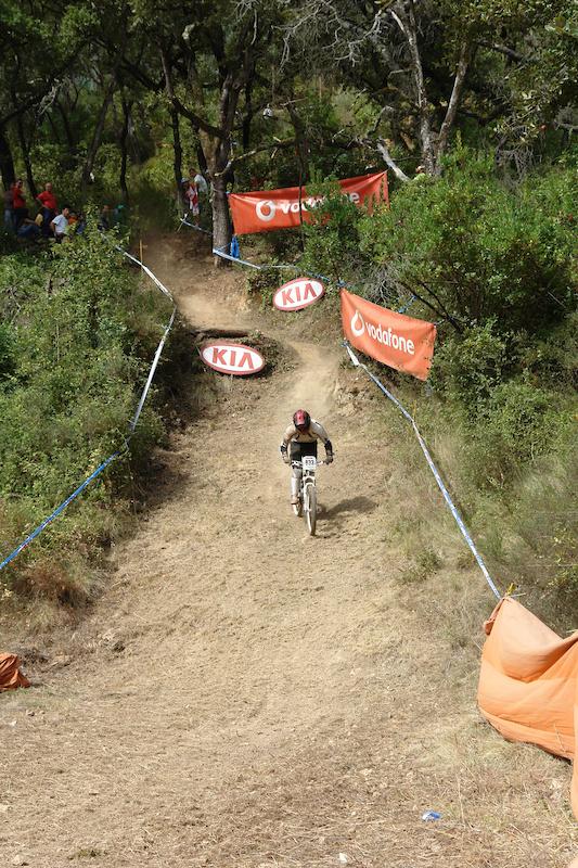 final gap at first run, fat tire =/ / photo by Tina