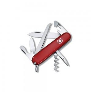 1_3613 lp affutages couteau suisse victorinox camper rouge 14 fonctions 9 pièces manche 91 mm