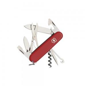 1_3703 lp affutages couteau suisse victorinox climber rouge 10 pièces 15 fonctions manche 91 mm