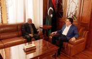 رئيس المجلس الرئاسي يلتقي رئيس مجلس النواب