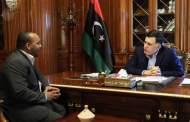 رئيس المجلس الرئاسي يستقبل عميد بلدية غات