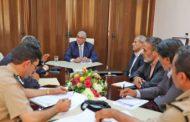 باشاغا يبحث مع لجنة التعاون الأمني مع تونس الأوضاع بمعبر رأس اجدير