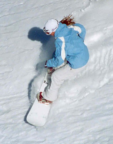 snowboarder - not actually me!