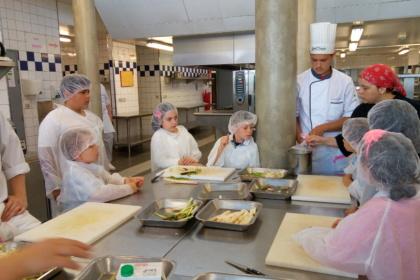 Ateliers gastronomique pour CE2