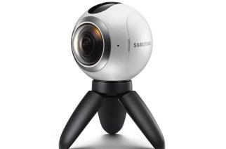 自製VR內容利器:三星發表可拍4K影片的Gear 360相機