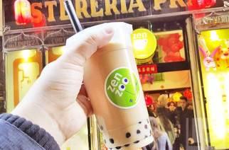 巴塞隆納/ZenZoo:蘭布拉大道旁100%道地的台灣珍珠奶茶