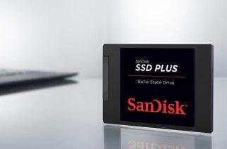 SanDisk  SSD Plus 固態硬碟