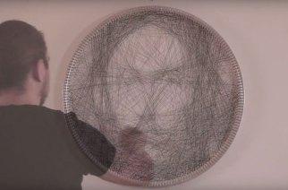 希臘藝術家Petros Vrellis新作品 以上千條直線編織出栩栩如生的人像畫 @LPComment 科技生活雜談