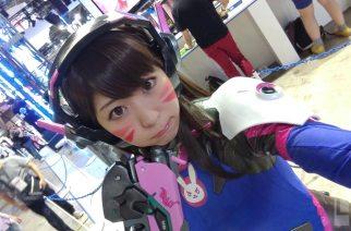 可以幫我用HTC 10自拍嗎?2016 TGS東京電玩展ShowGirl超特輯!(番外篇)