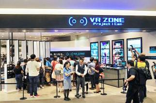 東京/VR ZONE Project i Can:結合HTC Vive虛擬實境的主題遊樂場