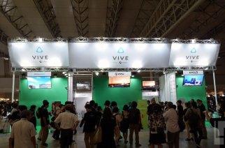 TGS 2016 HTC Vive 攤位