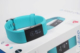 Fitbit Charge 2開箱動手玩:持續追蹤心率、電力長達五天