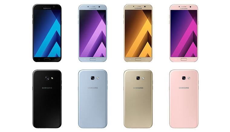 IP68防水防塵全面下放!2017年新版三星Galaxy A7、A5、A3發表