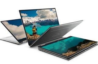 新款Dell XPS 13筆電發表:導入7代Core i,並加入360度翻轉觸控螢幕設計