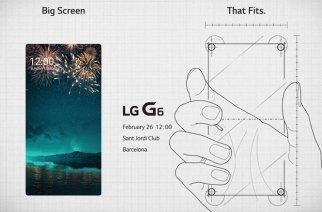 大螢幕+窄機身:LG G6將在2/26正式登場