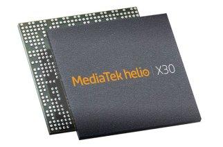 聯發科Helio X30處理器進入量產,終端裝置預計第二季陸續推出