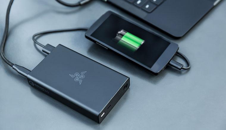 雷蛇行動電源發表:可充筆電、支援QC 3.0之外,但價格考驗你對它的愛有多少…