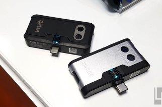 第三代FLIR One與One Pro手機用熱像儀動手玩:接頭改善與可見光解析度大提升 @LPComment 科技生活雜談