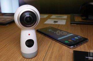 Samsung Gear 360 (2017) 動手玩:這尊阿尼支援360度全4K錄影
