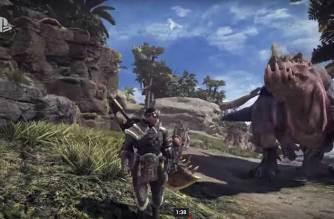 《魔物獵人 世界》E3登場!模糊獵人這次終於不再模糊啦!