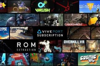 HTC宣布Viveport再新增75款VR內容,總數超過150款