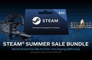 Steam夏季特惠活動開跑,HTC Vive推出裝置與內容折扣最低2.5折