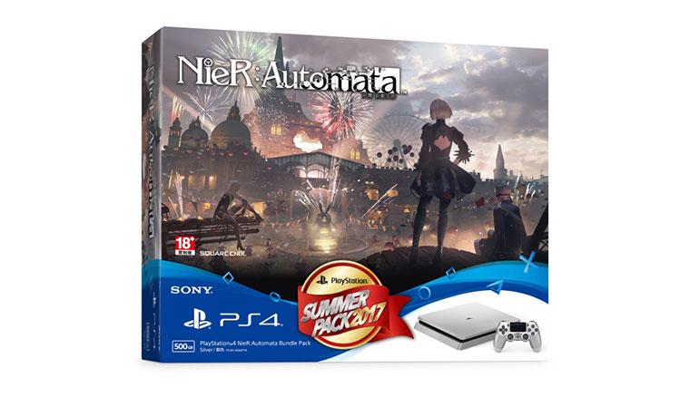仁王、尼爾自動人形搭金、銀PS4主機同捆組7/27在台開賣
