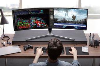 三星推出首款49吋32:9超寬曲面電競螢幕CHG90,另有32吋16:9曲面CHG70