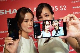 全螢幕新機Sharp AQUOS S2在台發表動手玩!售價12990元起、台哥大獨賣
