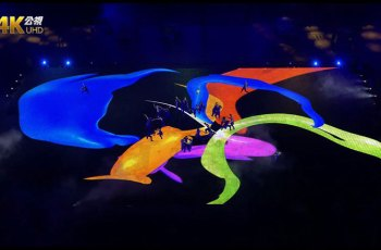 世大運地面螢幕怎麼做的?1200平方公尺巨型LED螢幕