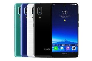 Sharp AQUOS S2「全面屏」手機登場,台灣8/15發表